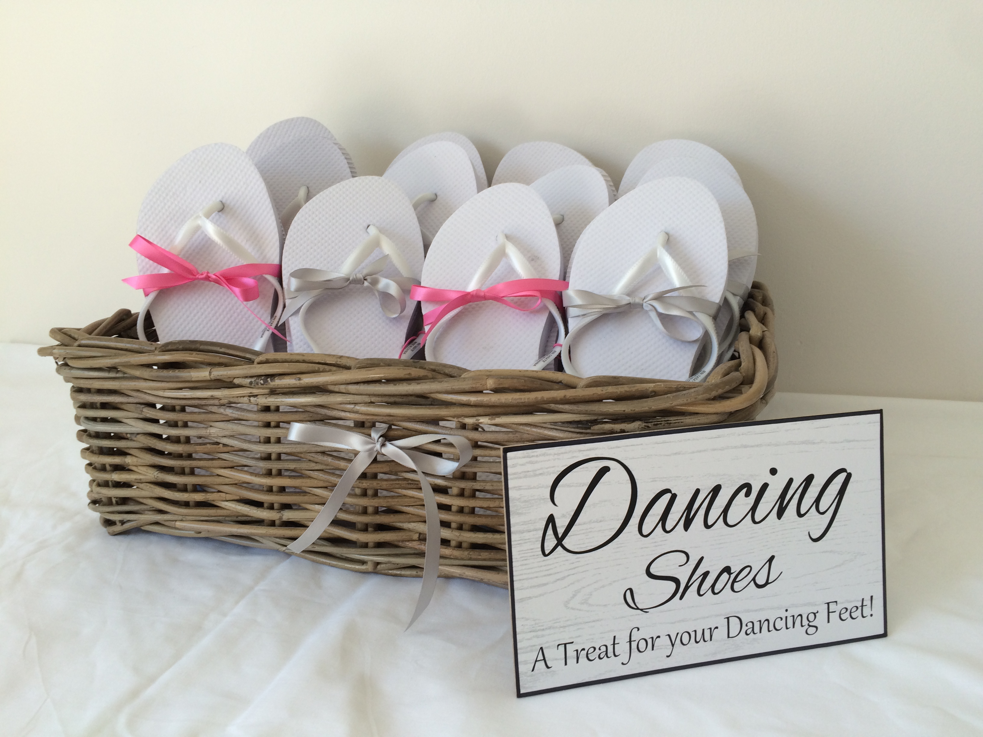 4fc94c72f Dancing Shoes - Flip Flops - Wedding Day Service - Wedding Decor UK